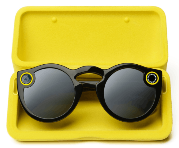 SnapChat Spectacles in the Charging Case- So cool!