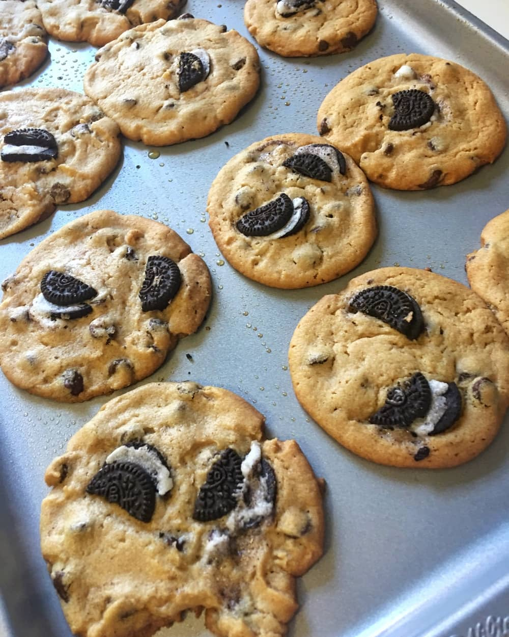 Homemade Oreo Chocolate Chip Cookies @Everything_Delish recipe