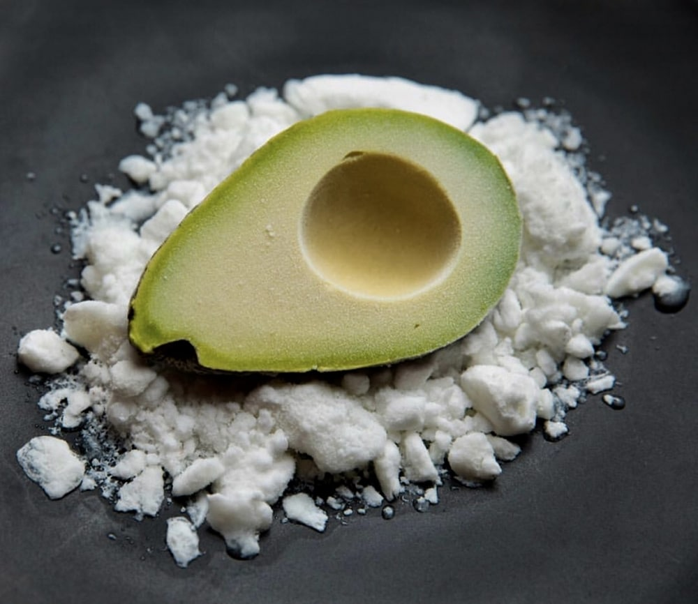 Avocado Ice Cream From Empellón in NYC. Photo Courtesy of @NYTfood