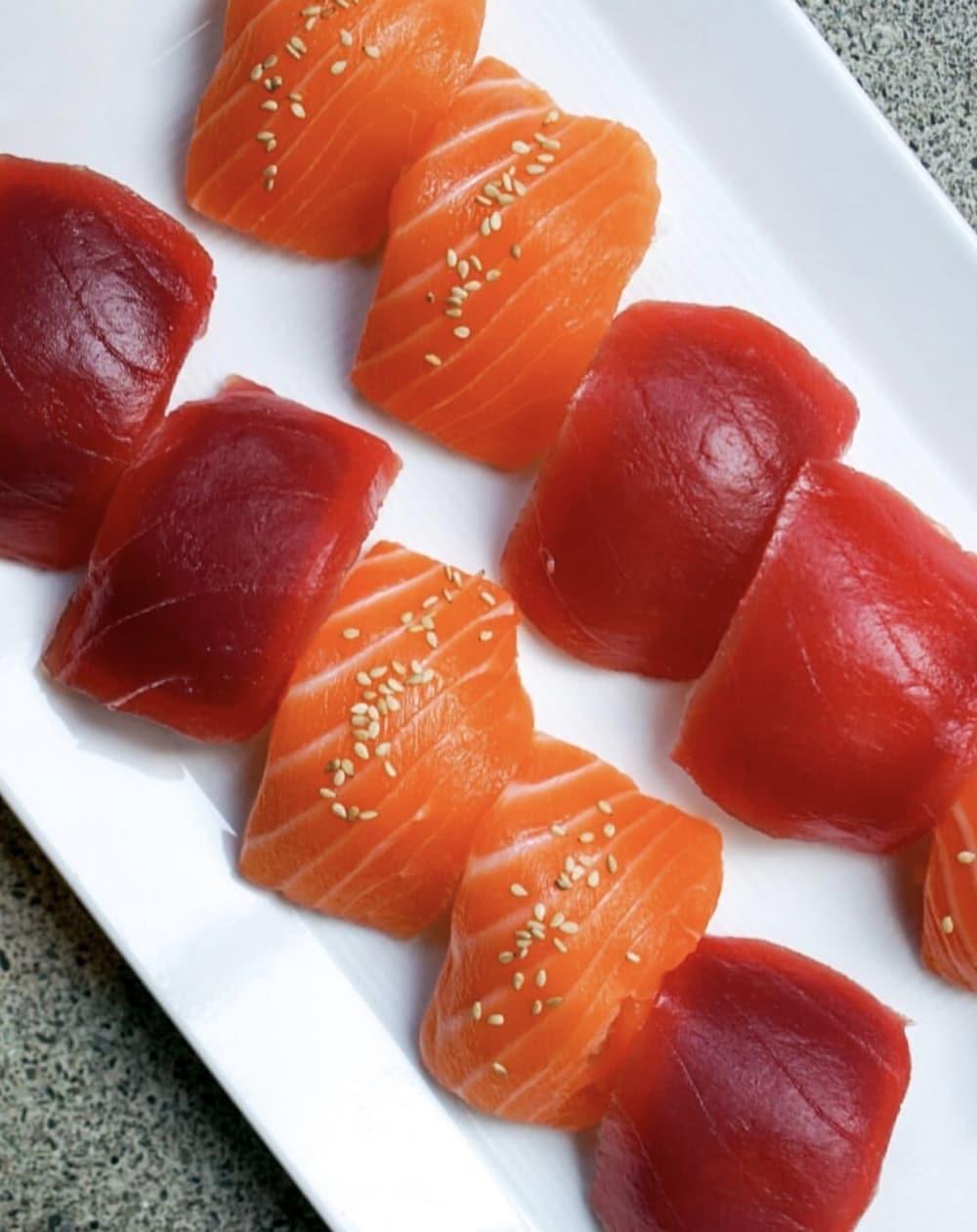SUGARFISH sushi is absolutely beautiful! Photo courtesy of @DCFoodPorn