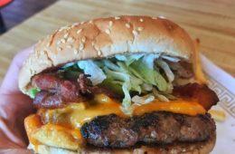 Banquet Burger from Golden Star in Toronto.