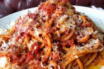 The Good Son's Bucatini All'amatriciana