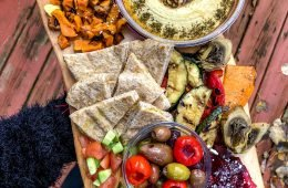 Holiday Hummus Board
